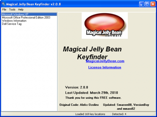 Magical Jelly Bean Keyfinder 2.0.1