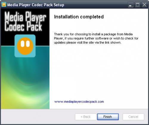 Media Player Codec Pack 3.9.6 - Download 3.9.6
