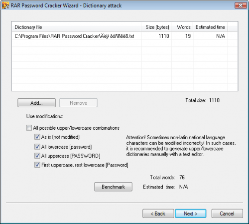 RAR Password Cracker 4.12 - Download 4.12