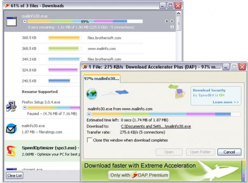 Download Accelerator Plus (DAP) 9.4.0.7 - Download 9.4.0.7