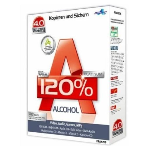 Alcohol 120% - Download 2.0.1.2033