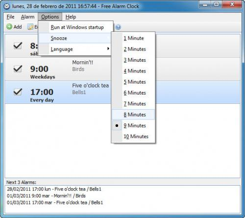 PC Alarm Clock 2.1