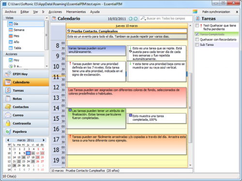EssentialPIM   Download 5.00  Agenda Download Free