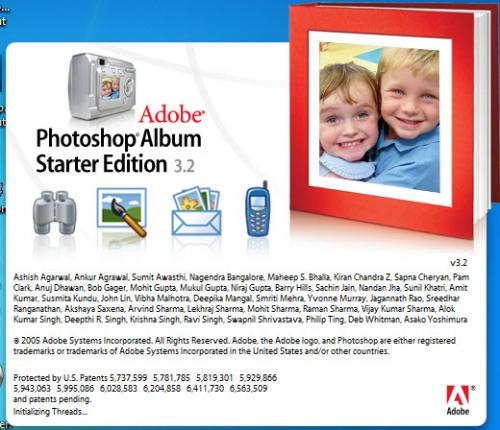 Adobe Photoshop Album SE 3.20 - Download 3.20