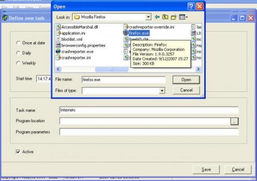 Freebyte Task Scheduler 1.4.1