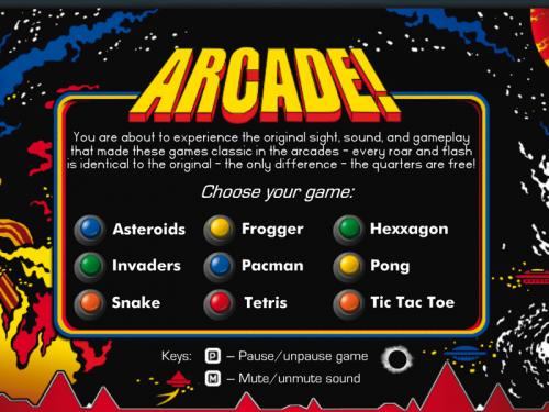 Arcade! Classic Arcade Pack 3.7.0 - Download 3.7.0