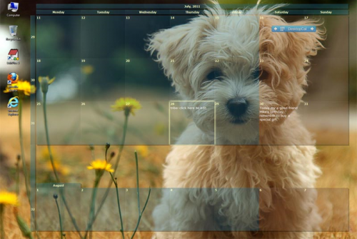 Desktop Calendar 0.42b