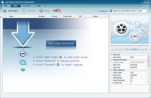 Any Video Converter - Download 3.25