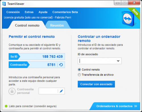TeamViewer 5.0.8703 - Download 5.0.8703
