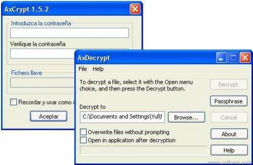 AxCrypt - Download 1.7.2614.0. 32b y 64b