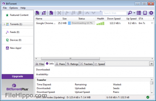 BitTorrent 7.0 - Download 7.0