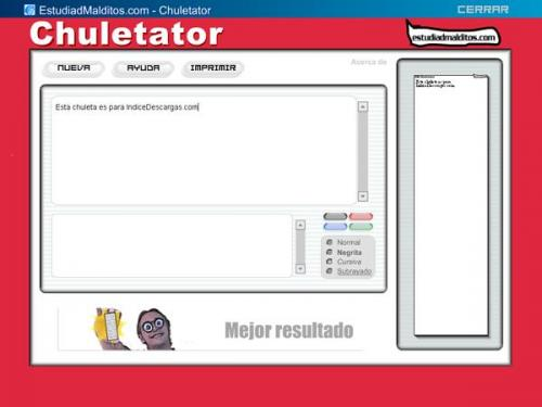 Chuletator  - Download 1.0.7345