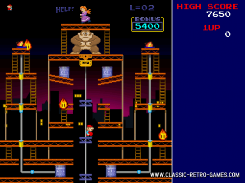 Donkey Kong Remake 1.0 - Download 1.0