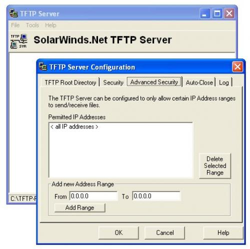 SolarWinds TFTP Server 8.2