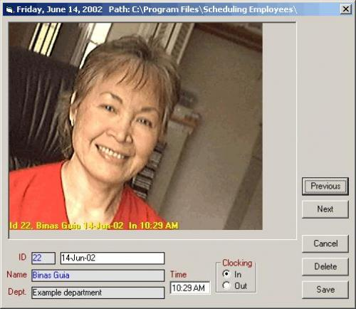 Picture TimeClock 2.4